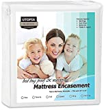 Utopia Bedding Zippered Mattress Encasement - Bed Bug Proof, Dust Mite Proof Mattress Cover - Waterproof Mattress Cover Protects from Insects and Fluids (Twin)