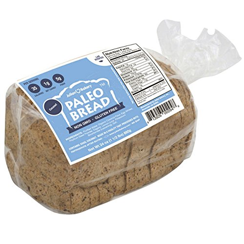 Paleo Bread (3 Pack) Low Carb, Gluten-Free, Grain-Free (From 1 Net Carb) (Coconut)