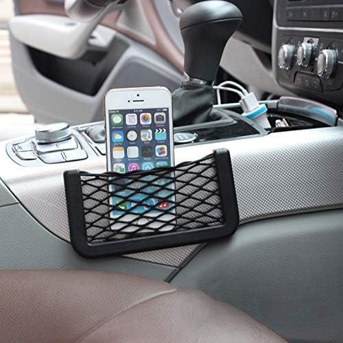 Smartphone-Halterung L NYDG Auto-Aufbewahrungs-Netztasche f/ür den Autositz Seitentasche Organizer