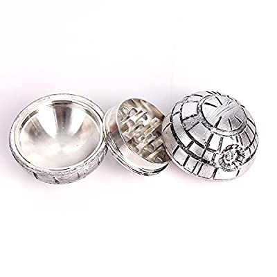 Death Star 3 Piece Herb Grinder from Ludus Distributing