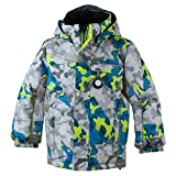 Obermeyer Kids Baby Boy's Hawk Jacket (Toddler/Little Kids/Big Kids) Fractal Camo 6