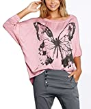Smibra Womens Loose Cuffed 3 4 Bishop Sleeve Floral Print Shirt Pleat Blouses Tees