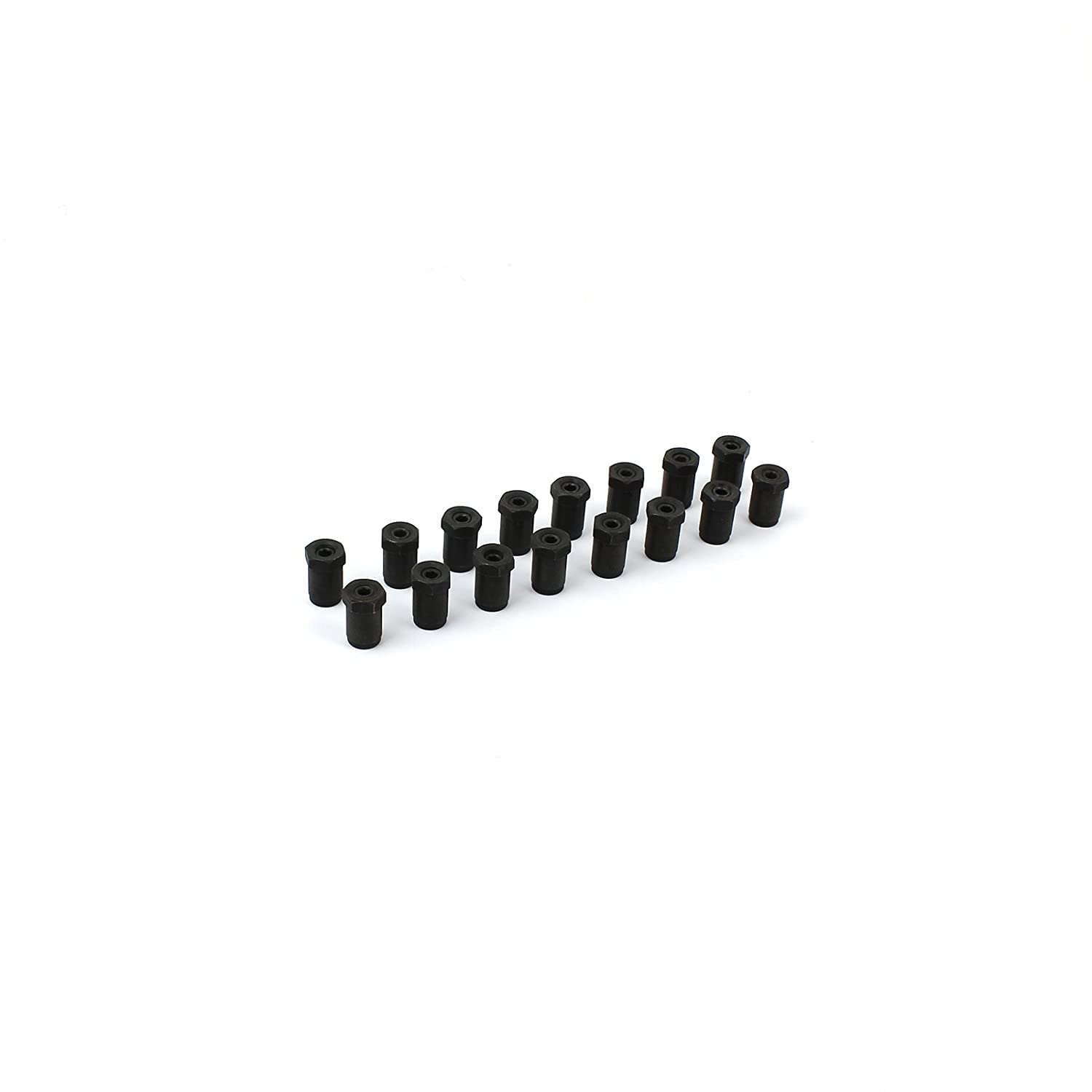 Suits: Stainless Rockers 3//8 Poly Sure Lock Rocker Arm Nut Set