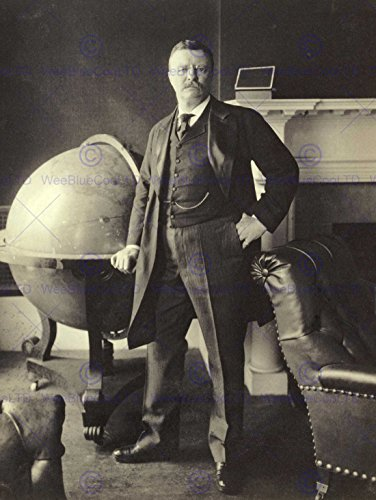 VINTAGE PHOTO PORTRAIT PRESIDENT THEODORE ROOSEVELT NEW FINE ART PRINT POSTER PICTURE 30x40 CMS CC5381 (Theodore Portraits Roosevelt)