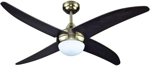 Sulion Ventilador de Techo Cormoran - Ventilador AC con Mando y ...