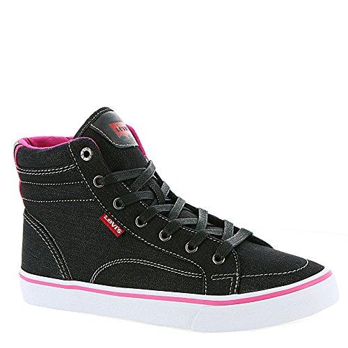 Levi's Shoes Women's Ashbury Denim Black/Fuchsia -