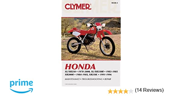 Honda Xr350r Manual 100 Images 1983 1984