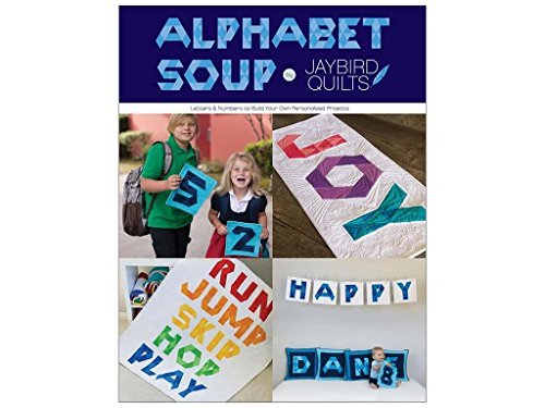 Top alphabet soup quilt book
