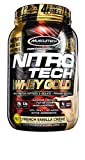 Cheap MuscleTech NitroTech Whey Gold, 100% Whey Protein Powder, Whey Isolate and Whey Peptides, Vanilla, 2.2 Pound