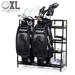 Never be caught searching for your gear again. This super organizer will store all that golfing equipment you have strewn about in one simple place. You'll know exactly where to find what you're looking for - from the favorite putter you had ...