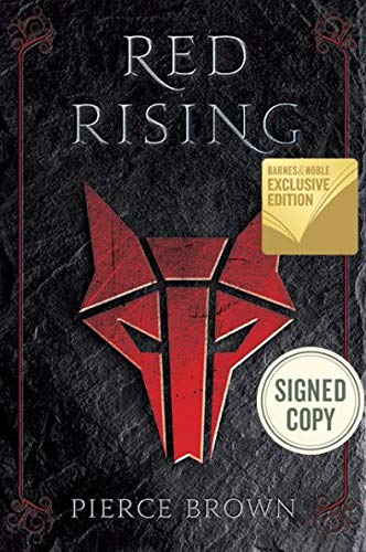 Red Rising Pierce Brown (Iconic Howlers Emblem SIGNED BOOK)