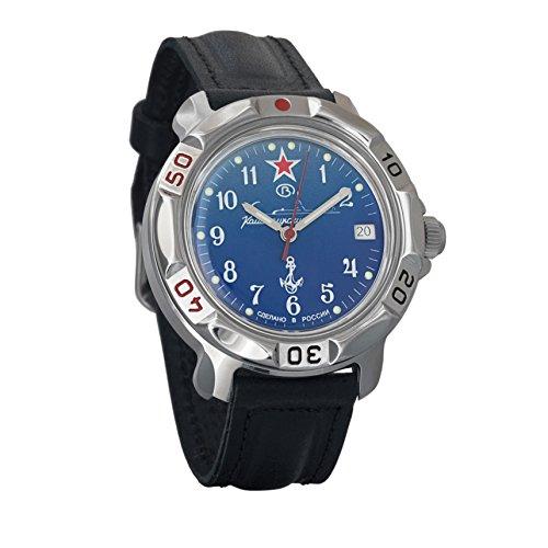 Vostok Komandirskie Commander Russian Army Mens Mechanical Military Wrist Watch #811289 ()