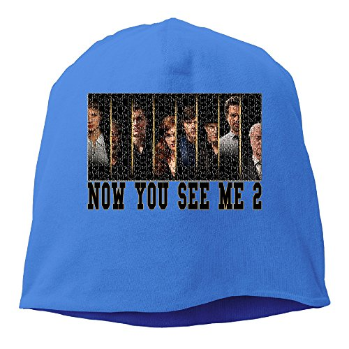 ACMIRAN Now U See Me2 Personalize Hip Hop Hat One Size RoyalBlue