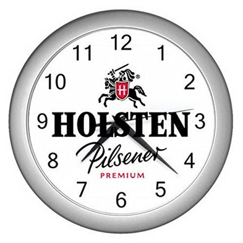 wall-clock-lzwc-021-new-clock-holsten-pilsener-beer-series-black-silver-wall-clock-rare-design