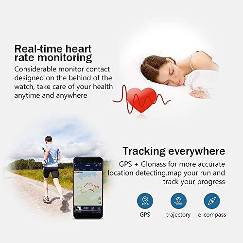 Smart Watch, Amazfit Bip Glonass GPS Cardiofrequenzimetro Fitness Sport Watch da 1,28