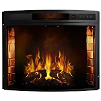 Regal Flame Curved Ventless Heater Elect...