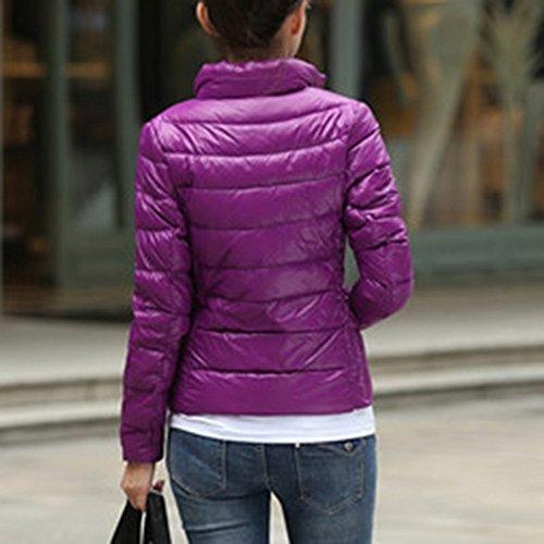Manteau Ultra Hiver Wenyujh L Chaud Court Femme Veste Jacket 45nnOq