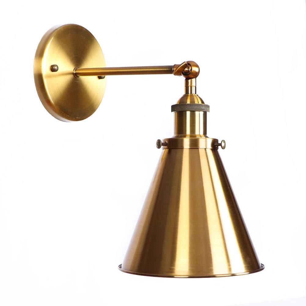 Moderne Amerikanischer Stil Wandleuchte Verstellbare Industrial Metall Wandlampe E27 Sockel für Haus, Bar, Dachboden, Restaurants, Café (Glühbirnen nicht enthalten)