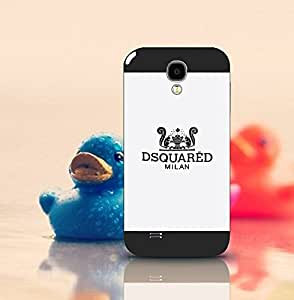 Jeaker - Dsquared2 - Samsung S4 Funda Case, Brand Logo Customized Scratch-Proof Anti Dust Ultra Thin Drop Protection Protective Funda Case Cover For Samsung Galaxy S4
