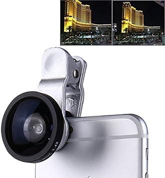 super Lente gran angular adicional 0,40 x 120° smartphone tablet webcam aumenta ámbito inquadratura selfie: Amazon.es: Electrónica