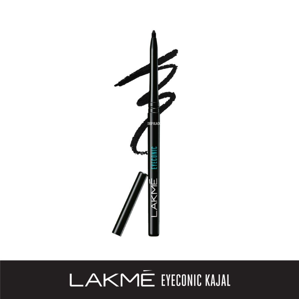 Lakmé Eyeconic Kajal, Deep Black, 0.35g product image
