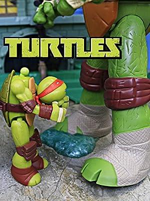 Teenage Mutant Ninja Turtles Giant Head Droppin Leo with Mutations Mikey and Secret Mutagen Ooze