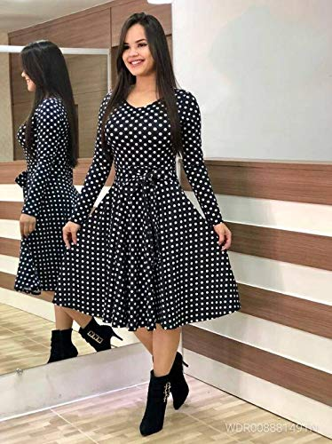 knee length dress with boots