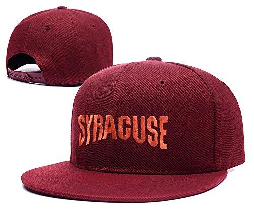 DEBANG Syracuse Orange Wordmark Snapback Caps Embroidery Adjustable Hats ()