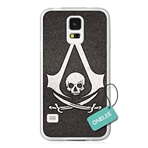 Onelee(TM) - Assassins Creed Logo Transparent Hard Plastic Samsung Galaxy S5 Case & Cover - Transparent 10