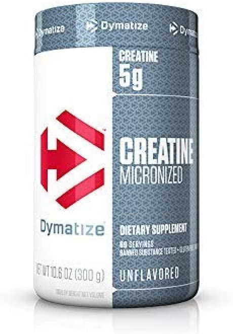 Creatine Micronized (300G), Dymatize Nutrition por Dymatize Nutrition