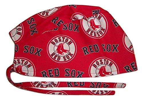 Scrub Hat Sports Themes Cotton Fabric Nurse Cap Doctor ER Do-Rag Skull Theme Cotton Fabric