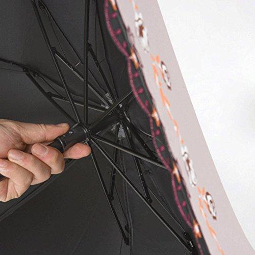 GYB Sonnenschirm UV Schutz Regenschirm Regenschirm mit drei Falten (Farbe : F) D AcZWuuMGRA