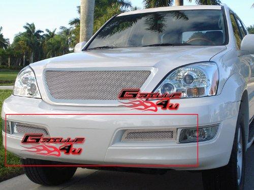 Hot 03-09 Lexus GX470 Bumper Stainless Mesh Grille Grill Insert