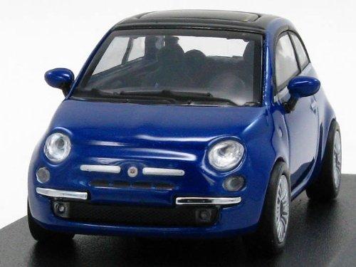 1/64 フィアット 500 2007(メタリックブルー) 640121704