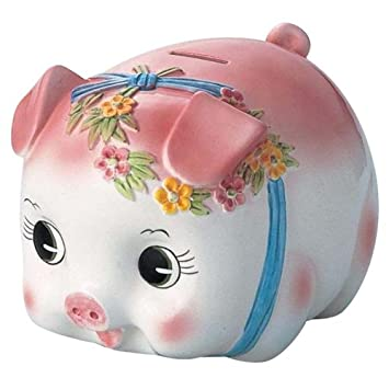 Pink piggy bank images galleries with a bite - Extra large ceramic piggy bank ...