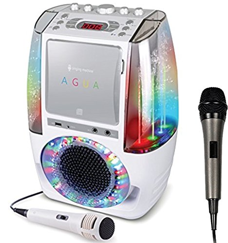 Bundle Includes 2 Items - Singing Machine SML605W Agua Dancing Water Fountain Karaoke System with LED Disco Lights & Microphone, White and Singing Machine SMM-205 Unidirectional Dynamic Microphone by Singing Machine and Singing Machine (Image #8)