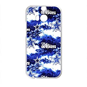 NFL Team Logo Dallas Cowboys Cell Phone Case FOR HTC One M7