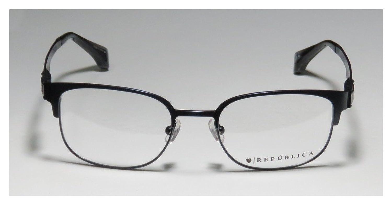 REPUBLICA Eyeglasses BOSTON Navy 50MM at Amazon Men\'s Clothing store: