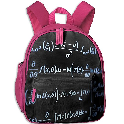 Children Dark Math Formula School Backpack Gift For Baby Boys & Girls Bookbags School Travel Outdoor Bagpack With Pocket For Toddlers - Head What Is Shape My