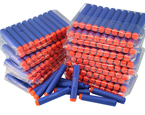 Nerf Compatible Bullets 300 Darts Hard Head for Elite N Strike Refill Series Pack for Kid Toy Gun
