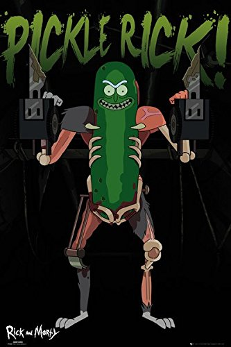 Rick And Morty - TV Show Poster / Print (Pickle Rick!) (Size: 24
