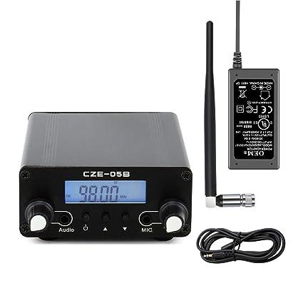 amazon com nktech cze 05b 100mw 500mw 0 5w 76 108mhz home dual modeHouse Fm Transmitter 88 108mhz At 4 Watt #17
