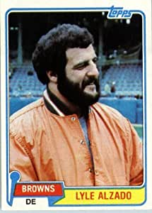 Amazon.com: 1981 Topps # 505 Lyle Alzado Cleveland Browns ...