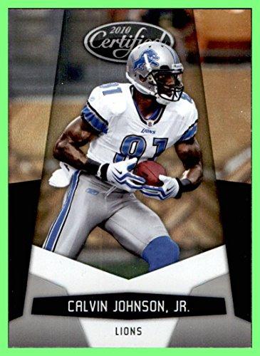 2010 Certified #48 Calvin Johnson DETROIT LIONS GEORGIA TECH YELLOW JACKETS