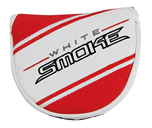TaylorMade White Smoke Big Fontana Mallet Putter Headcover White/Red
