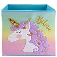Lovely Little Things Unicorn Collection Storage Bins