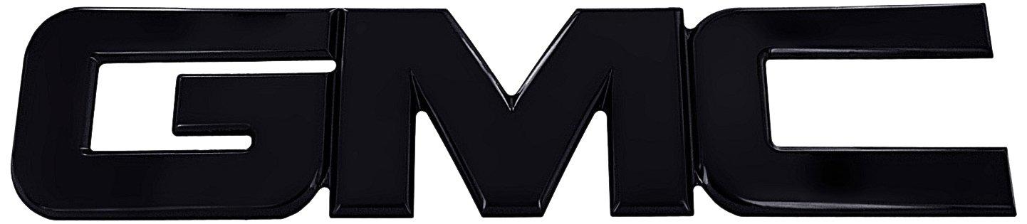 All Sales 96502K Billet Tailgate / Liftgate Emblem – Black Powdercoat