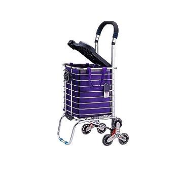 Amazon.com: ZCF YEUX - Carro de la compra plegable para ...