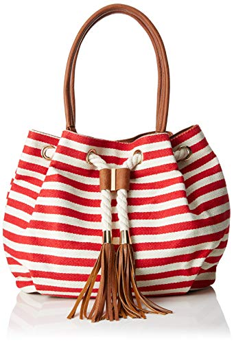61016 2 Woman Red e 2 Tozzi Comb borse tracolla a 22 Marco Shoppers Red qUwtx6C