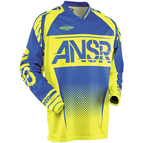 (Answer Racing A17.5 Syncron Men's Off-Road Motorcycle Jerseys - Acid Blue/X-Large)